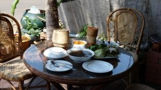 Lecker essen im Café Sisouk