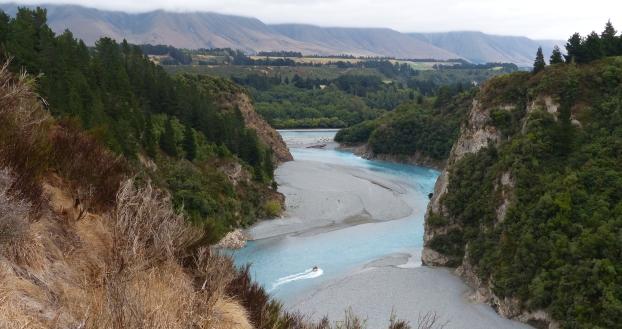 Rakaia Gorge (Neuseeland)
