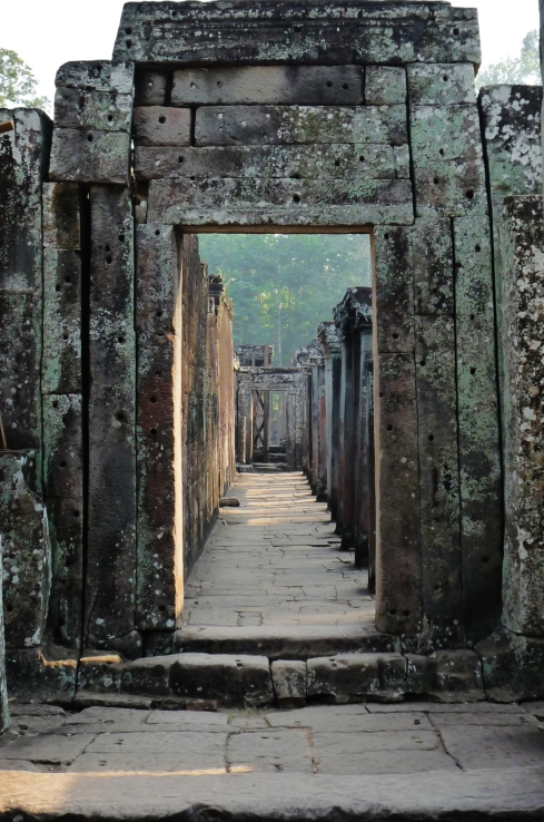 Durchgang Angkor (Kambodscha)