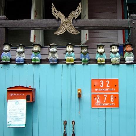 Haustür Bangkok (Thailand)