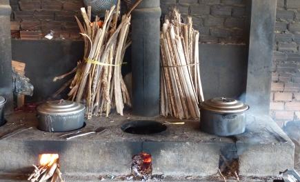 Küche in Kep/Kambodscha
