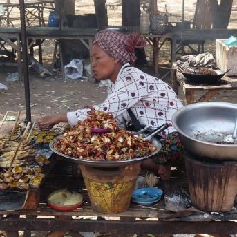 Garküche in Kambodscha