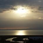 Abendlicht am Firth of Thames, NZ