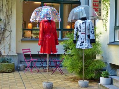 Kleines Geschäft mit großer Mode