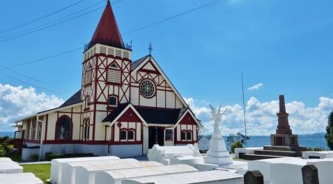 Anglican Church Ohinemutu